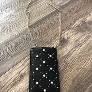 KATE SPADE PEARL PHONE SLEEVE BAG POUCH WALLET